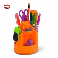 "Набор настольный EK ""Mini Desk. Neon Solid""  оранжевый,вращ.,"