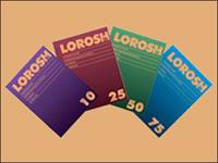 Копировальная бумага  010л, фиолетовая (Лорош)