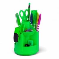 "Набор настольный EK ""Mini Desk. Neon Solid""  зелёный,вращ.,"