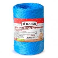 Шпагат полипропиленовый KOMFI 1.6мм*100м 1000 текс,синий,цилиндр