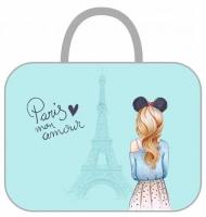 "Сумка-планшет А4 ""Paris""  ткань,на молн., 26*34*6"