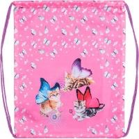 Сумка д/обуви ATTOMEX 35*43см Fairy Cats,водоотталкив.ткань