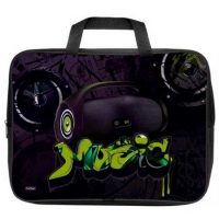 """Сумка-планшет А4 ХАТ """"Boombox"""" текстиль,с ручками,д/тетрадей,ширина 7см"""