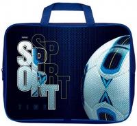 """Сумка-планшет А4 ХАТ """"Sport time""""  текстиль,с ручками,д/тетрадей,ширина 7см"""