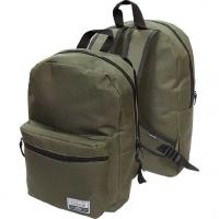Рюкзак подростковый   хаки,40*29*17см
