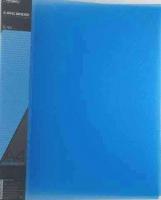 Папка 4 кольца 40мм ХАТ А4 Diamond 02009 п/прозрач. синяя