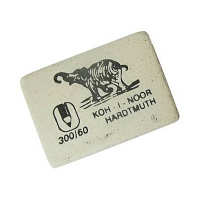 Ластик K-i-N Elephant мягкий прямоугольный, из каучука, размер 31х21х8мм (KOH-I-NOOR)