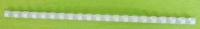 Пружина пластиковая Lamirel 10мм  белая (100шт.)