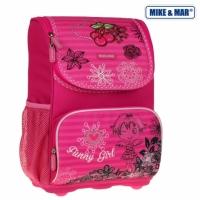 Рюкзак школьный облегченный Mike&Mar (Майк Мар) Девочка
