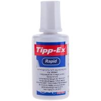Корректирующая жидкость Tipp-Ex, 20мл, на химической основе, с губчатым аппликатором