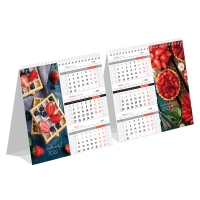 """Календарь-домик настольный 190*170мм,  """"Mono Premium. Sweet motif"""", 2022г."""