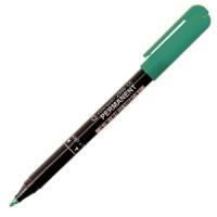 Маркер перманентный Centropen, 1.0мм, зеленый