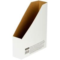 Накопитель-лоток архивный из микрогофрокартона OfficeSpace, 75мм, белый, до 700л.