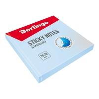 """Самоклеящийся блок Berlingo """"Standard"""", 76*76мм, 100л, голубой"""