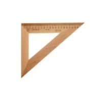 Треугольник 30гр., 23см  деревяный (12/50)