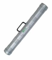 Тубус с ручкой диаметр 9 см, длина 70 см серый