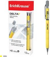 Карандаш автоматический 0.5мм EK Delta, корпус желтый (Erich Krause)