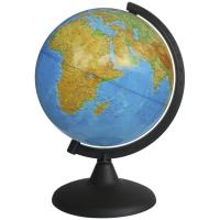 Глобус физический 21см на круглой подставке