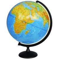 Глобус физический Глобусный мир, 25см, на круглой подставке