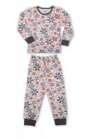 Пижама для девочек  из набивного трикотажа (116-122 6-7 лет)
