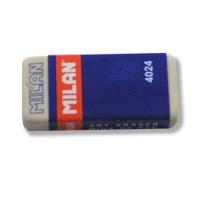 Ластик MILAN 4024 для чернограф. карандашей B, 2B, 4B с держателем
