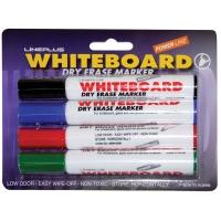 """Набор маркеров для белых досок Line Plus """"600B"""" 4цв., пулевидный, 2мм, блистер"""