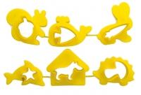 Набор формочек для пластилина №1 (6 формочек) (Луч)