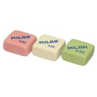 Ластик Milan мягкий, квадратный, из каучука, размер 27х27х13мм