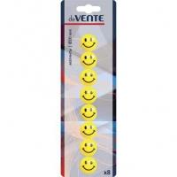 "Набор магнитов д/доски deVENTE 8шт. 20мм ""Smile""  (6021300) карт. блист."