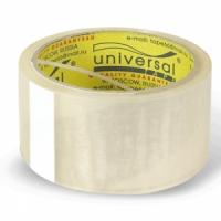 Клейкая лента 50*66 прозрачная, ЭКОНОМ, 30м, 38мкм (Universal)