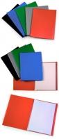 Папка пластиковая с файлами А4 040вкл, Бюрократ ассорти, 040мм (EC40) (30)