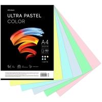 """Бумага цветная OfficeSpace """"Ultra Pastel Color"""", A4, 80 г/м², 100л., (5 цветов)"""