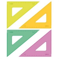 Треугольник 45гр., 16см NEON Cristal (12/160)