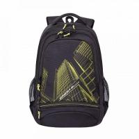Рюкзак (/2 черный - салатовый)(RU-804-3 )