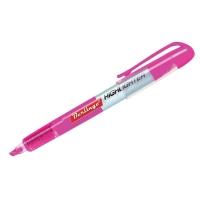 Текстовыделитель розовый, 0,5-3,5мм, жидкие чернила