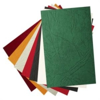 Обложка для переплета А4, картон, под кожу, 230гр./м2, бирюза, 100шт. ()