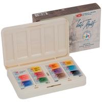 Акварель Белые ночи, художественная, 12 цветов*2,5мл, кюветы, пластик/картон IWS