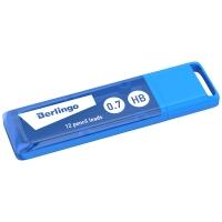 Грифели для механических карандашей Berlingo, 12шт., 0,7мм, HB