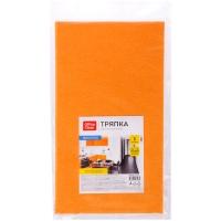 Тряпка для мытья пола OfficeClean, вискоза, 50*60см, оранжевая