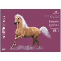"""Бумага для пастели  500*700мм Лилия Холдинг """"Палаццо"""", 160г/м2, ежевичный"""