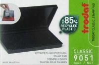 Штемпельная подушка Trodat, 90*50мм, синяя, пластиковая (56332)