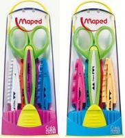 Ножницы детск. MAPED Crea Cut  д/детского творчества, с 5 смен.лезвиями