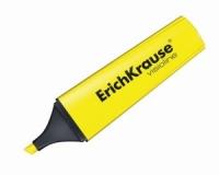 Выделитель текста EK V-12, 0,6-5.2мм, скошенный, желтый