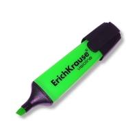 Выделитель текста EK V-12, 0,6-5.2мм, скошенный, зеленый (Erich Krause)