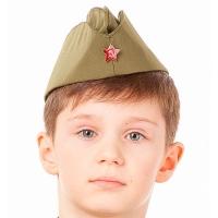 Пилотка Солдата /текстиль/Батик/