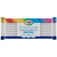 """Пластилин детский  250гр. ГАММА """"Классический"""" белый"""