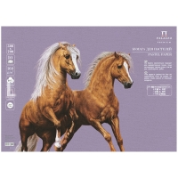 "Бумага для пастели  500*700мм Лилия Холдинг ""Палаццо"", 160г/м2, темно-розовый"