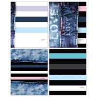 """Тетрадь 96л., А5, клетка BG """"Striped jeans"""""""
