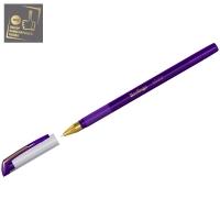 """Ручка шариковая """"xGold"""" фиолетовая, 0,7мм, игольчатый стержень, грип"""