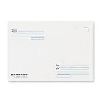 Конверт бумажный, 229х324мм   С4, офсет 080г/м2, стрип, прямой клапан, Куда-Кому, без запечатки, 250шт (Pigna)
